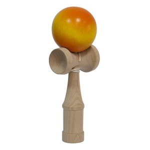 Joc Kendama Junior Portocaliu Degrade