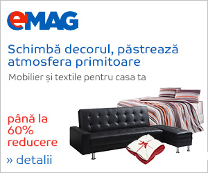 Mobilier si textile casa Emag