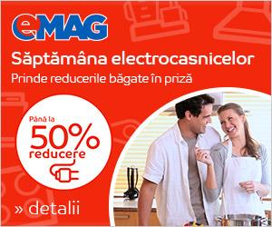 Saptamana Electrocasnicelor - 7-13 Februarie 2017 la eMAG 2