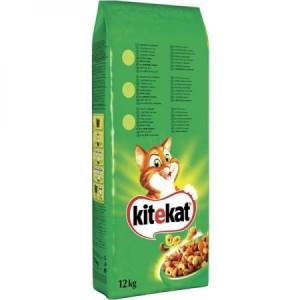 Hrana uscata pentru pisici Kitekat Vita & Legume 12Kg