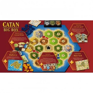 Joc de societate Kosmos Catan Big Box 2