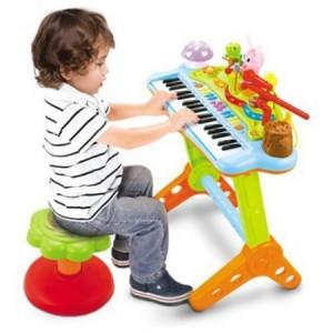 Jucarie M-Toys Orga electronica cu scaunel  2