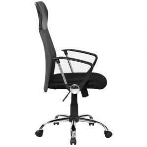 Scaun de birou ergonomic Kring Fit Mesh Negru 2