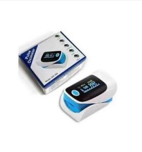 Pulsoximetru pentru deget cu afisaj LED 303 albastru2